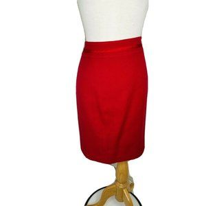 White House|Black Market Skirt Sz Pencil Skirt Red